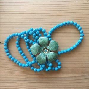 Jewelry - Bracelet - turquoise cuff